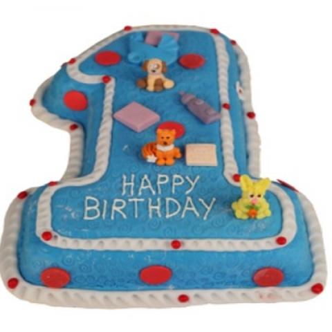 Детский торт 016