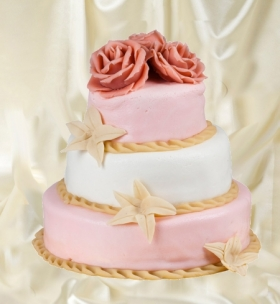 Свадебный торт 46
