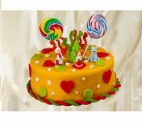Детский торт 064